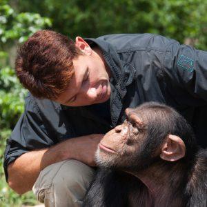 Eugene Cussons, JGI Chimp Eden, Afrique du sud