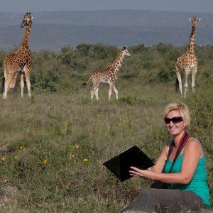 Zoe Muller, Rothschild's Giraffe Project, Kenya