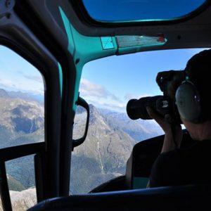 Vue du ciel, en Nouvelle-Zélande