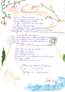 Juliette - 1er prix Catégorie Génial Poème