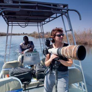 Sabine en Namibie