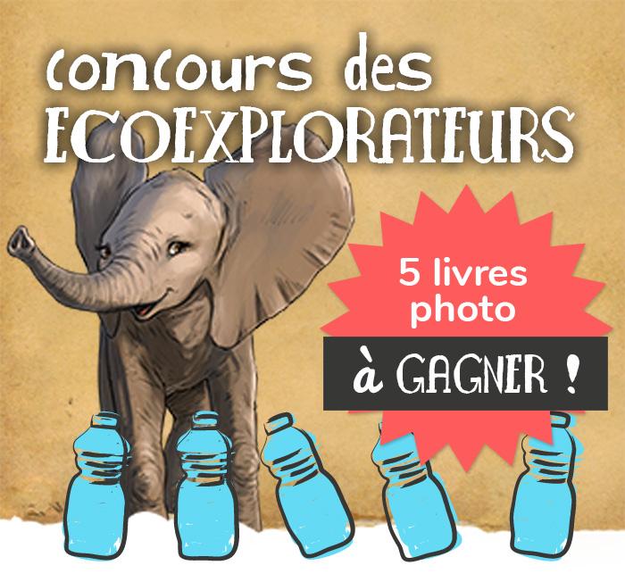 Éléphant mascotte du Concours des écoexplorateurs