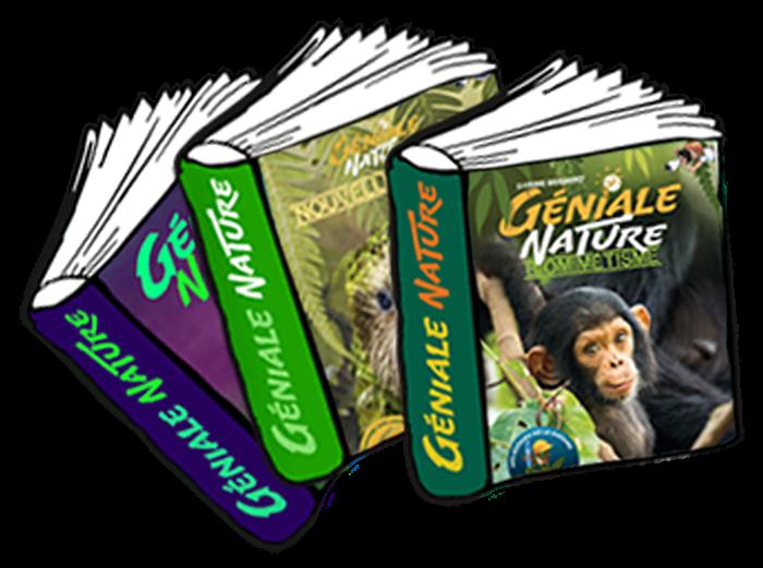 couvertures des ouvrages de la collection Géniale Nature
