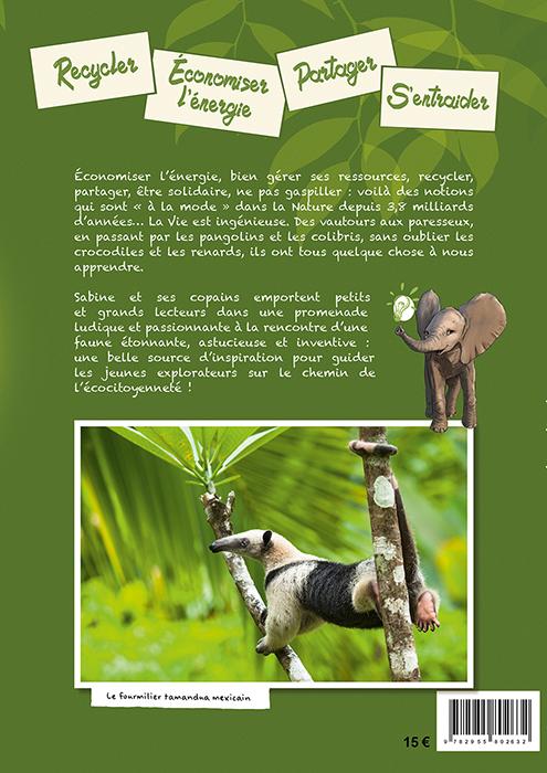 Quatrième de couverture livre Comme dans la Nature