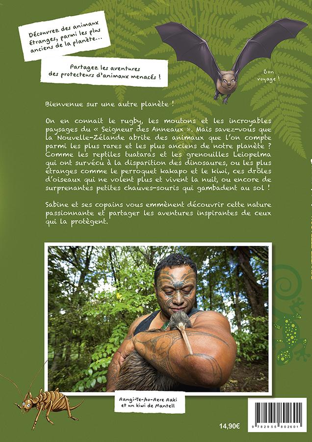 Quatrième de couverture livre Nouvelle-Zélande